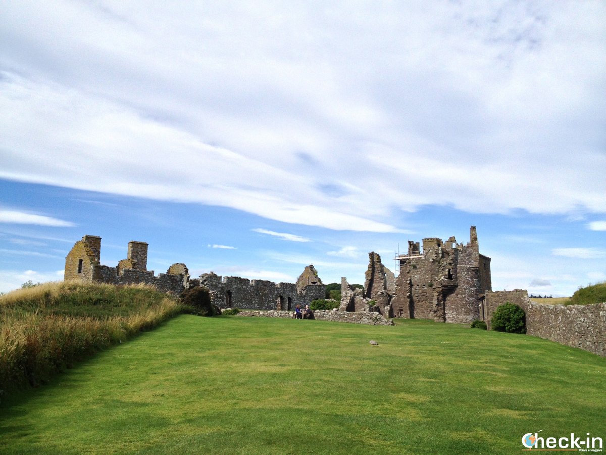 Visita del Dunnottar Castle: la Tower House