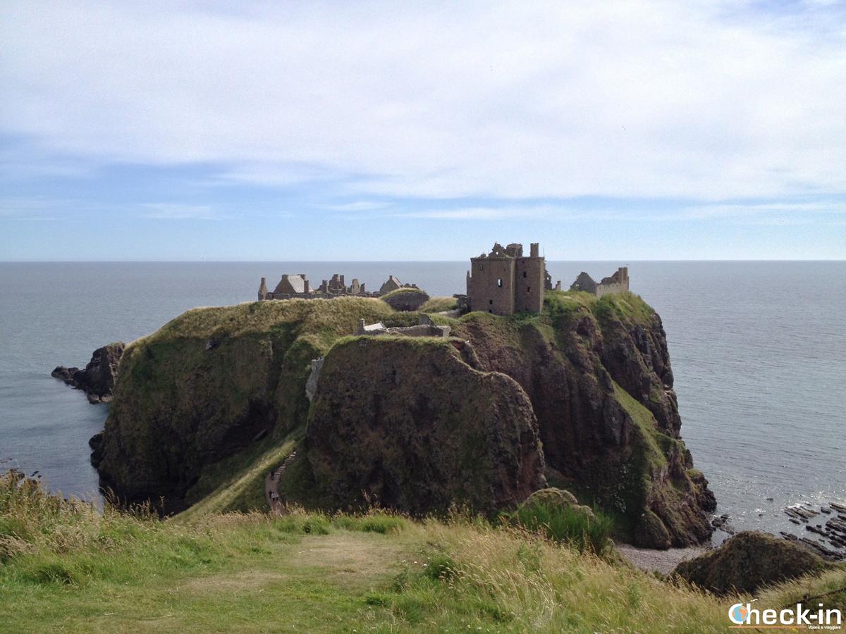 Arrivo al Dunnottar Castle