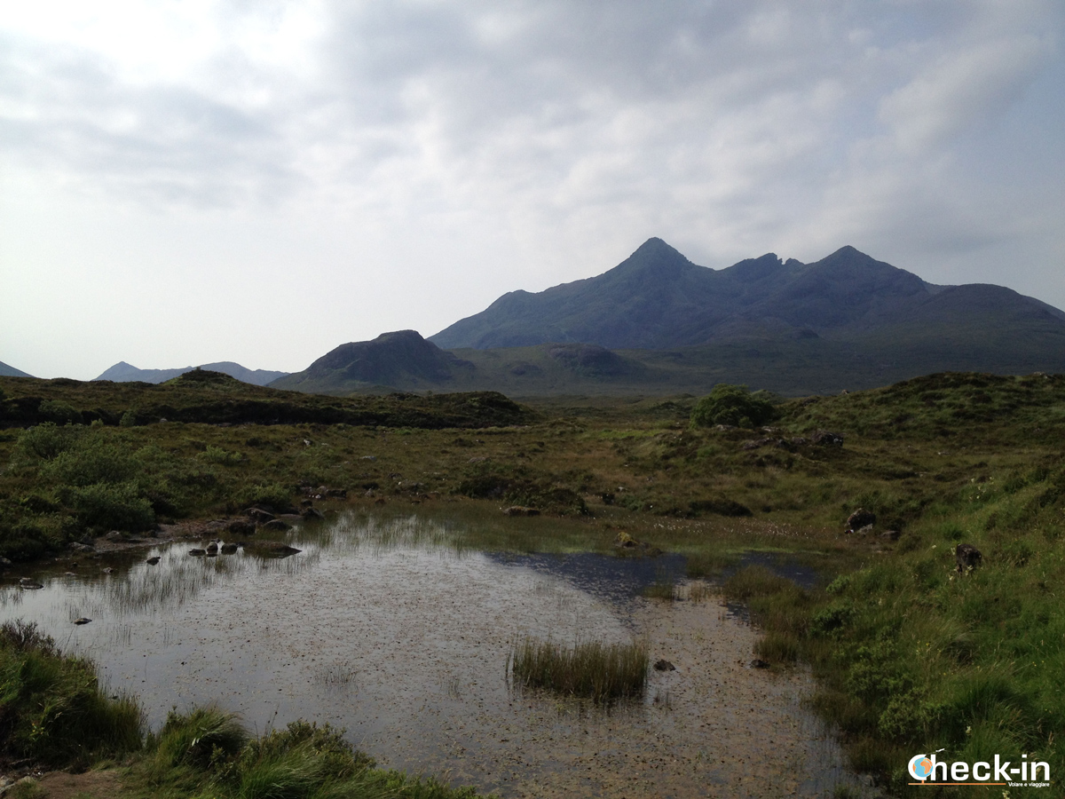 I Black Cuillin a Sligachan, isola di Skye