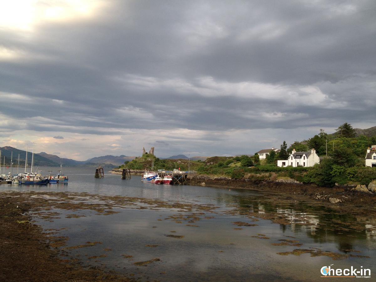 Il castello di Moil a Kyleakin, isola di Skye