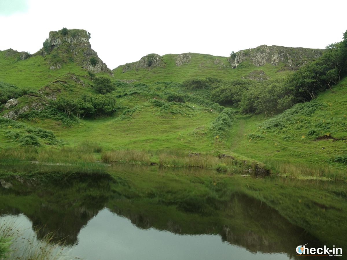 Fairy Glen sull'isola di Skye
