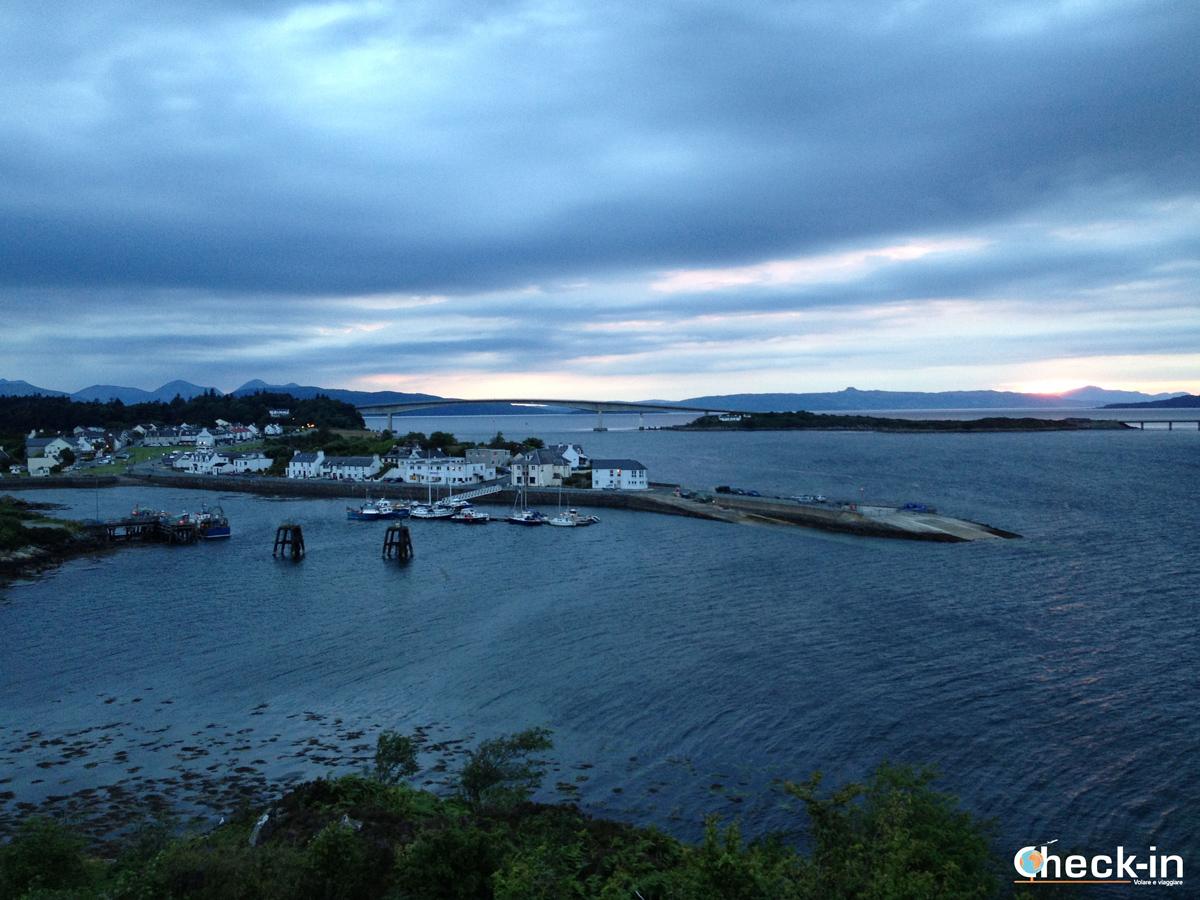 Tramonto sull'isola di Skye