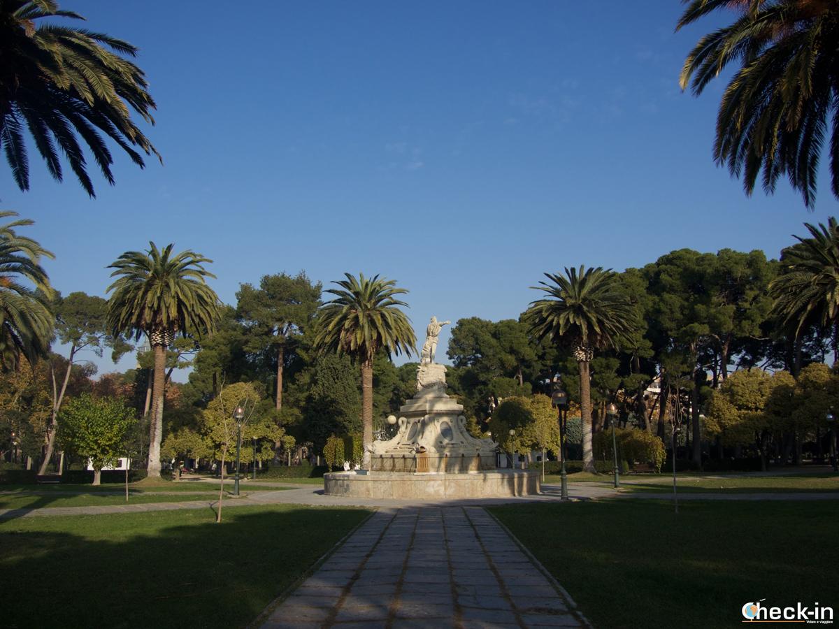 Parque Grande di Zaragoza: la Fuente de la Princesa