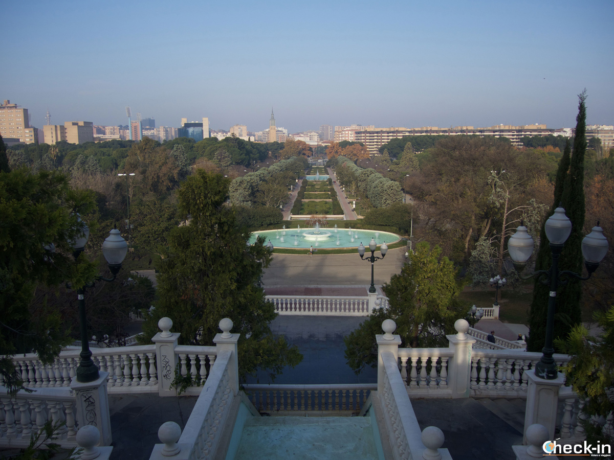 Vista su Zaragoza dal Parque Grande