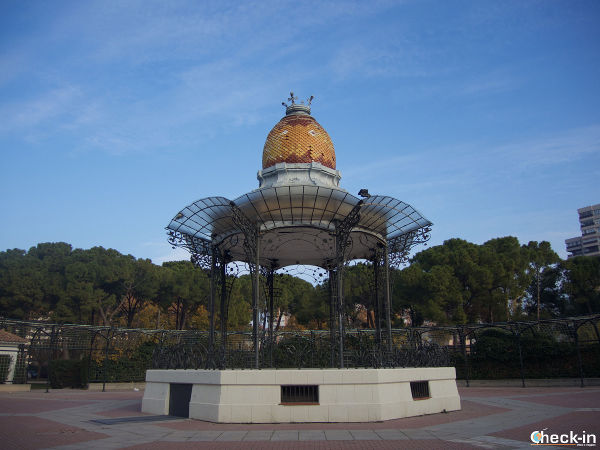 Parque Grande di Zaragoza: il Quiostro de la música