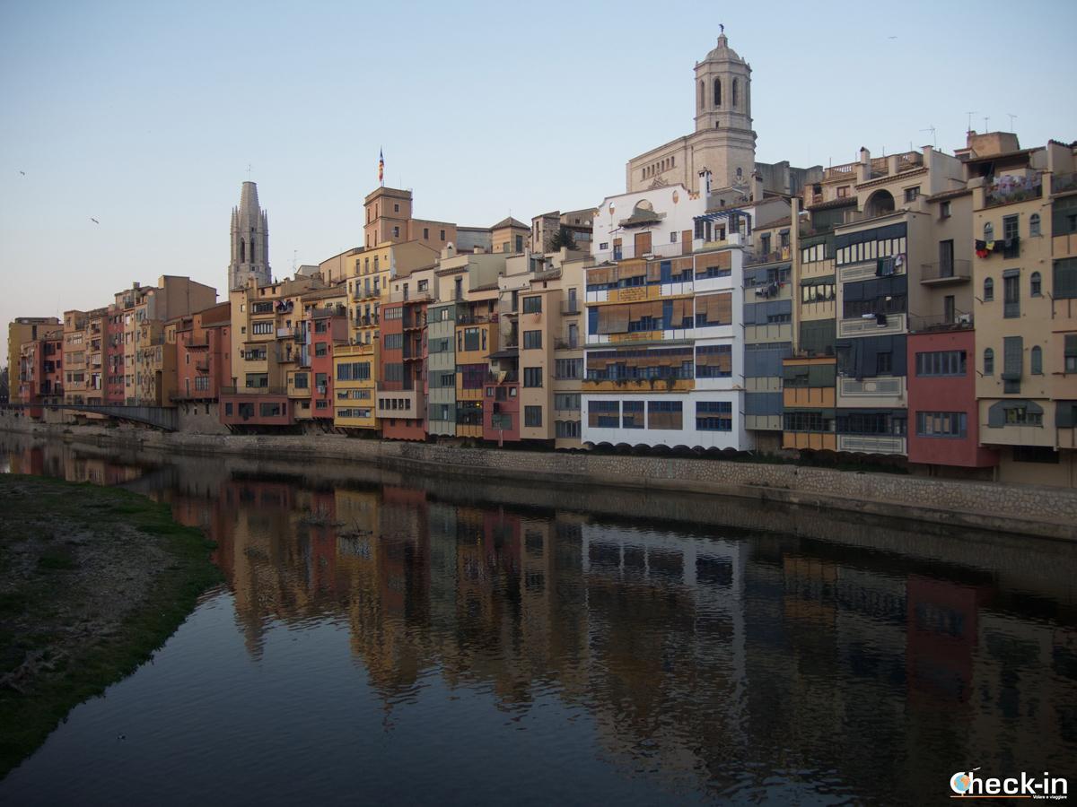 Le case colorate di Girona, un must da vedere assolutamente