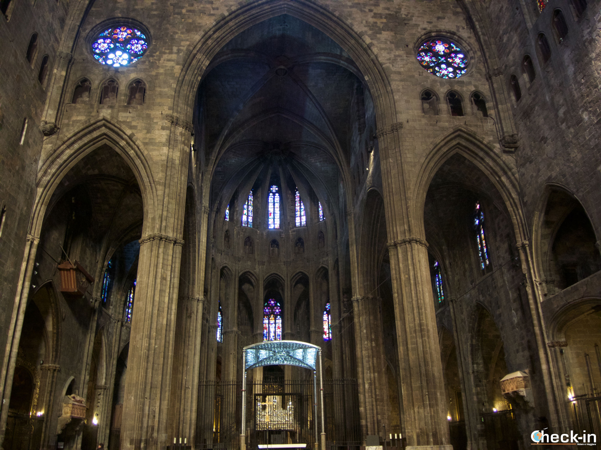 Cosa vedere a Girona: gli interni della Cattedrale