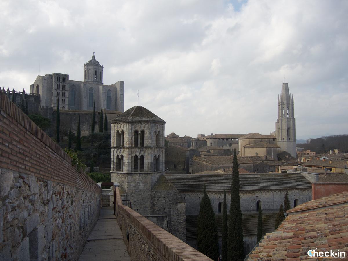 Le mura medievali di Girona