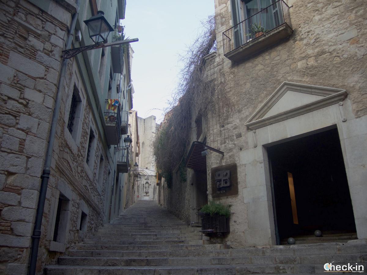 Salita alla Cattedrale di Girona