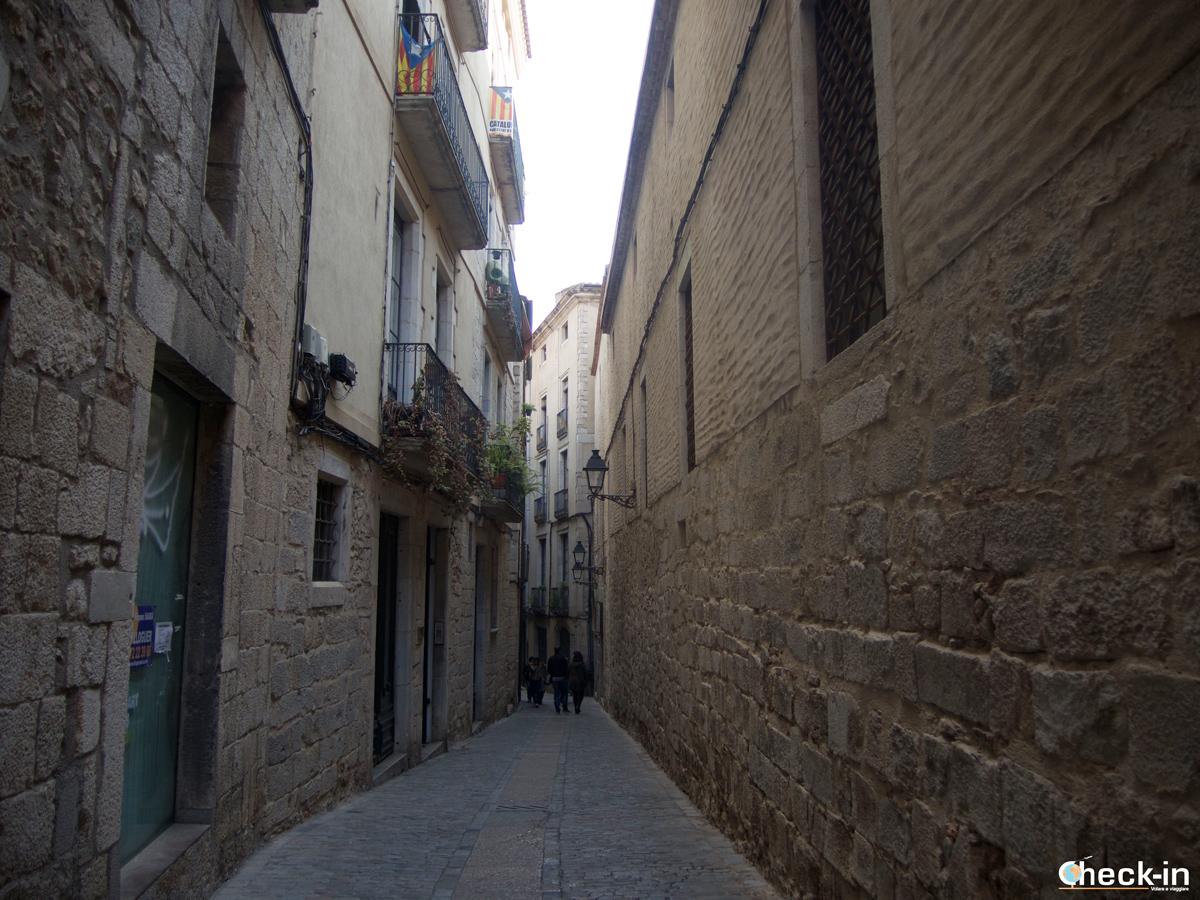 Il quartiere ebraico di Girona: carrer de la Força