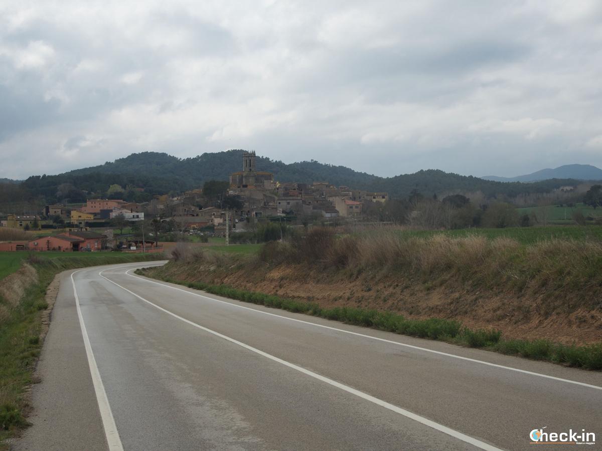 Muoversi in Costa Brava: arrivo a La Pera - Baix Empordà (Catalogna)