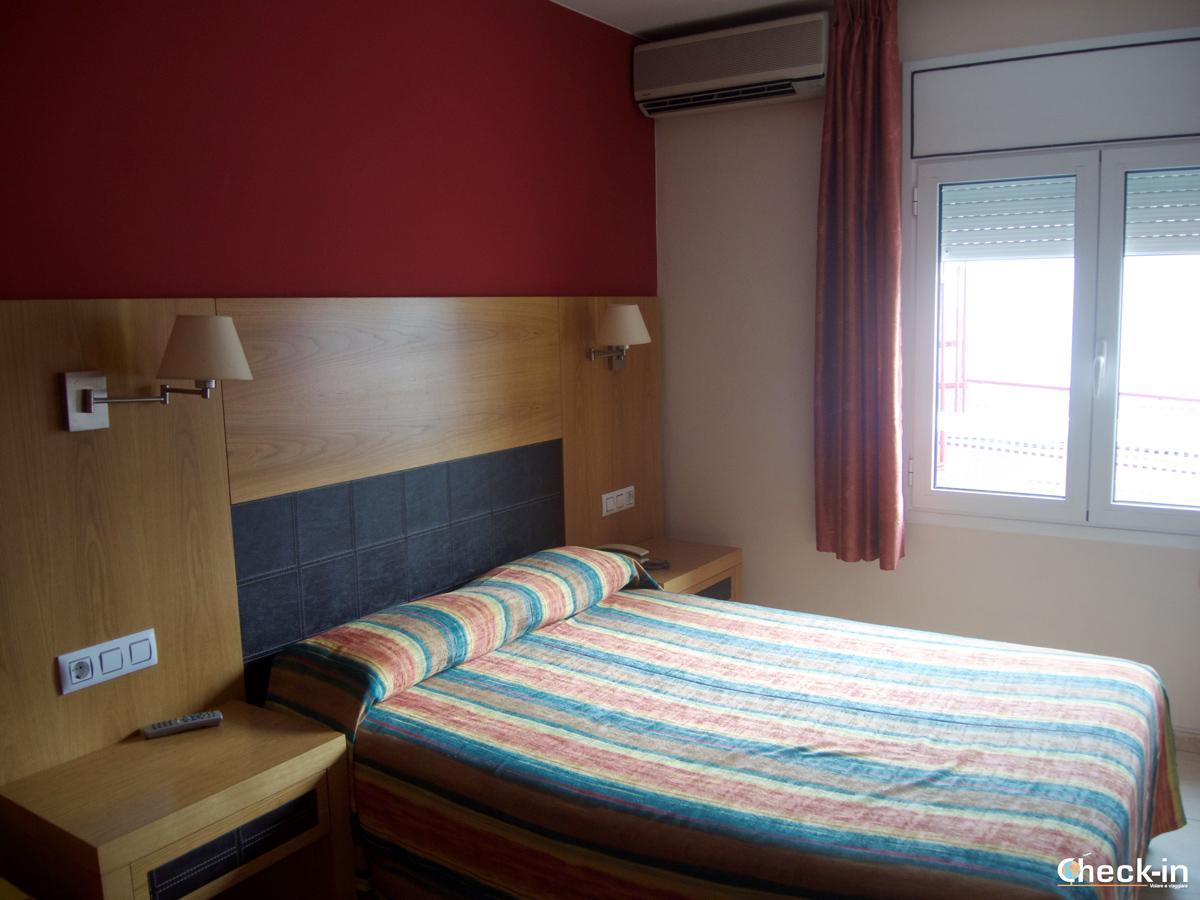 Camera doppia dell'Hotel Europa di Figueres
