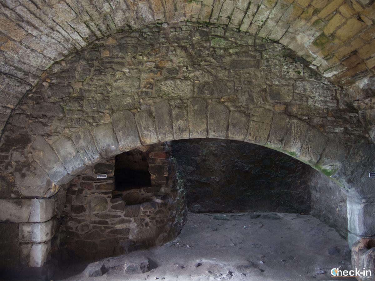 La cucina del Castello di Aberdour