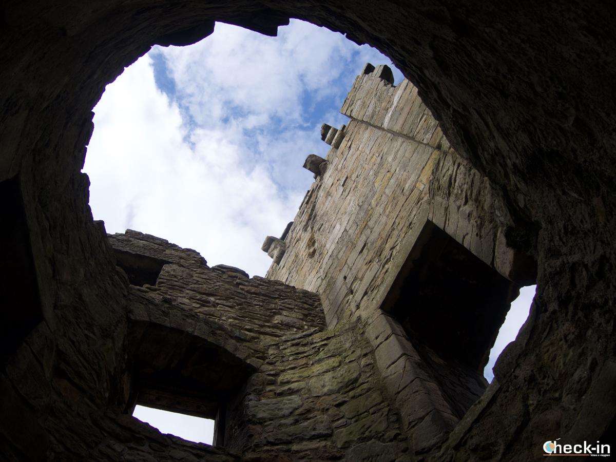 Zona centrale del Castello di Aberdour