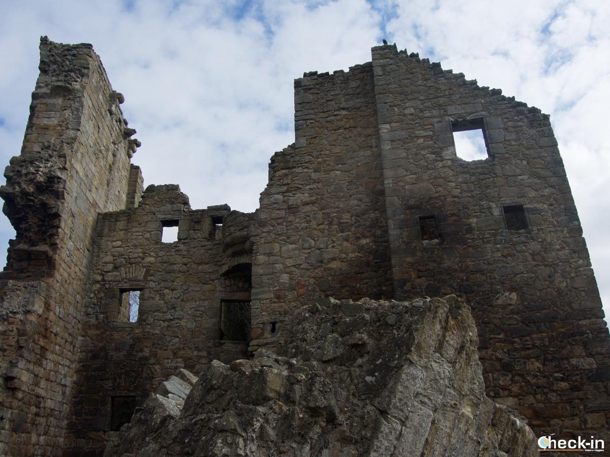 La Tower House del Castello di Aberdour - Fife, Scozia