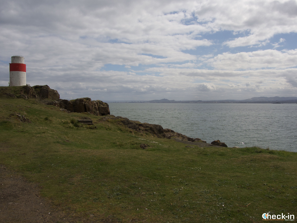 Panorama sul Firth of Forth da Hawkcraig