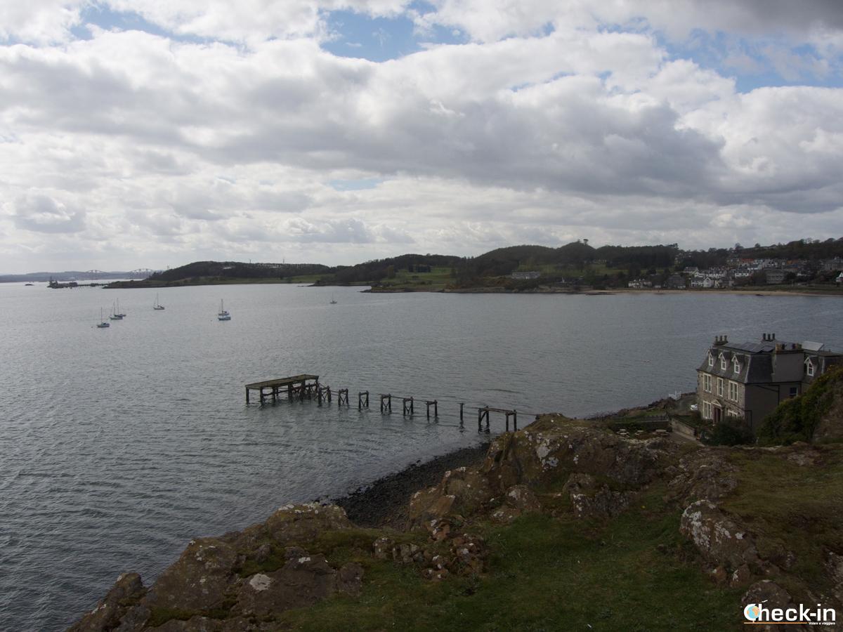 Scorcio di Aberdour dal Fife Coastal Path