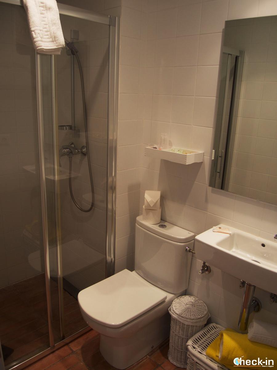 Hostalet de Cadaqués: il bagno