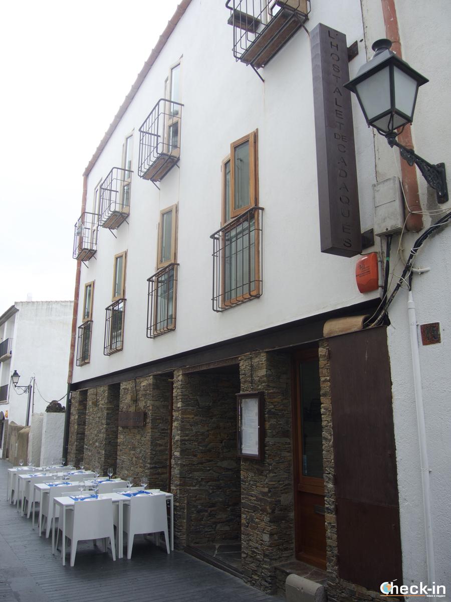 L'Hostalet de Cadaqués visto dalla strada