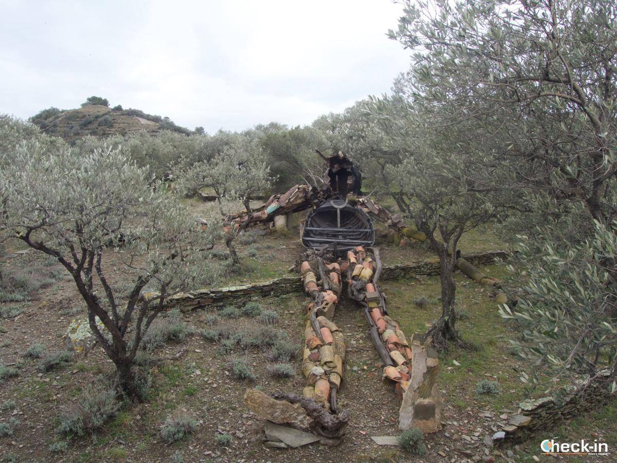 """Casa di Dalí a Port Lligat: """"Cristo de las basuras"""""""