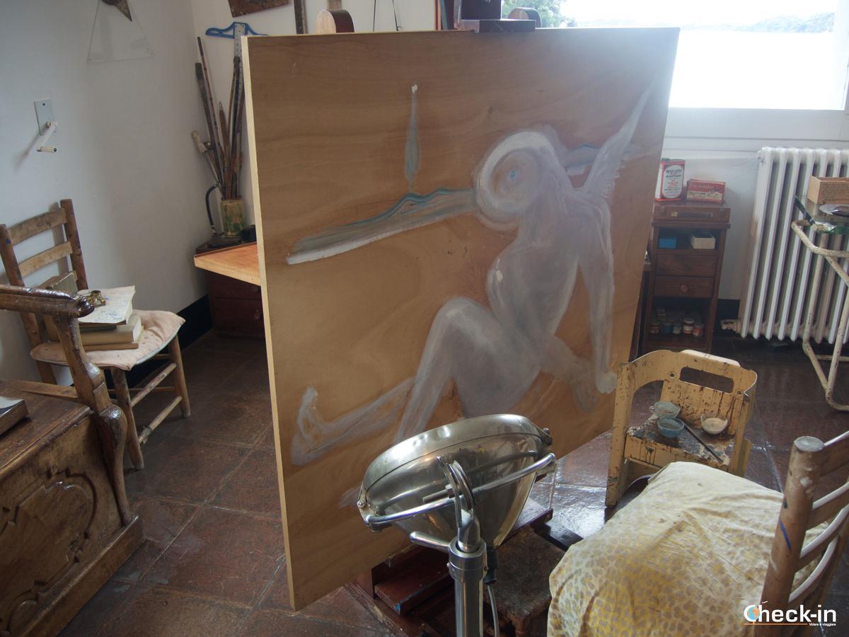Lo studio di Dalí a Port Lligat