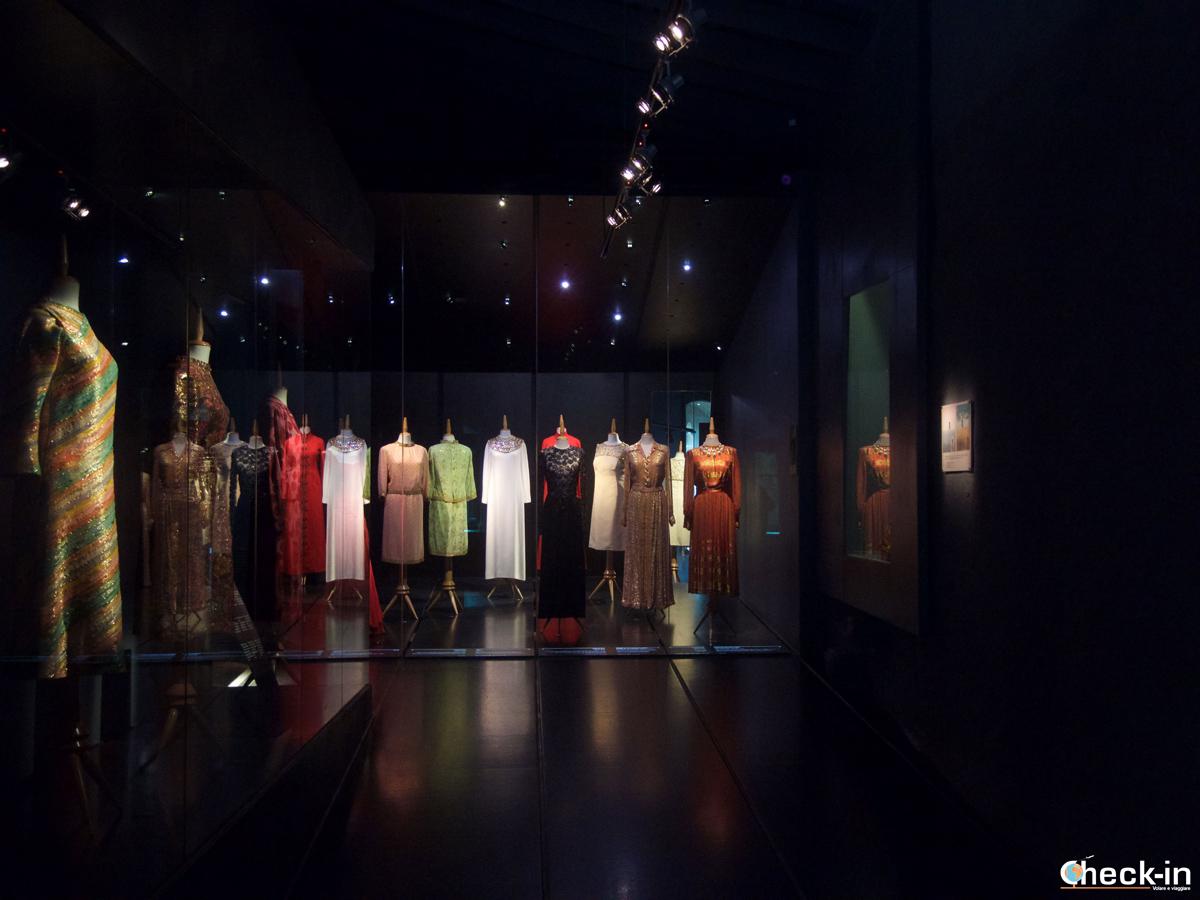 I vestiti di Gala custoditi nel Castello di Púbol