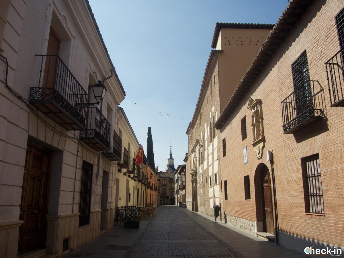 Scorcio di calle la Imagen ad Alcalá de Henares
