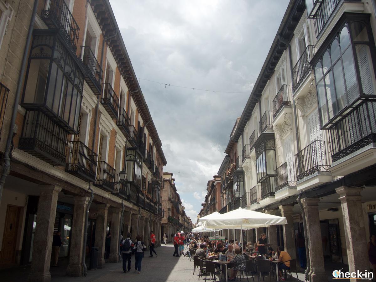 La Calle Mayor di Alcalá de Henares