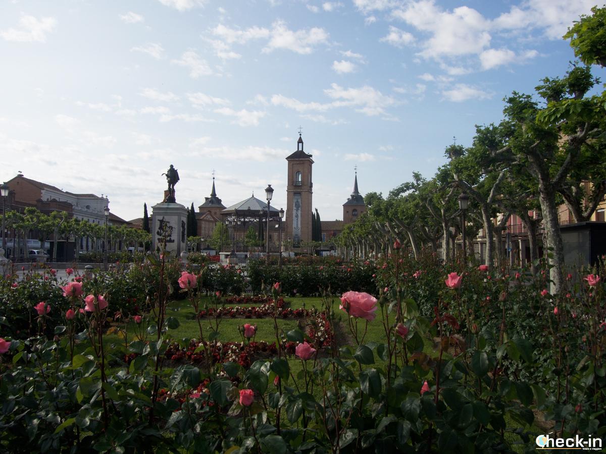 La Plaza Cervantes di Alcalá de Henares