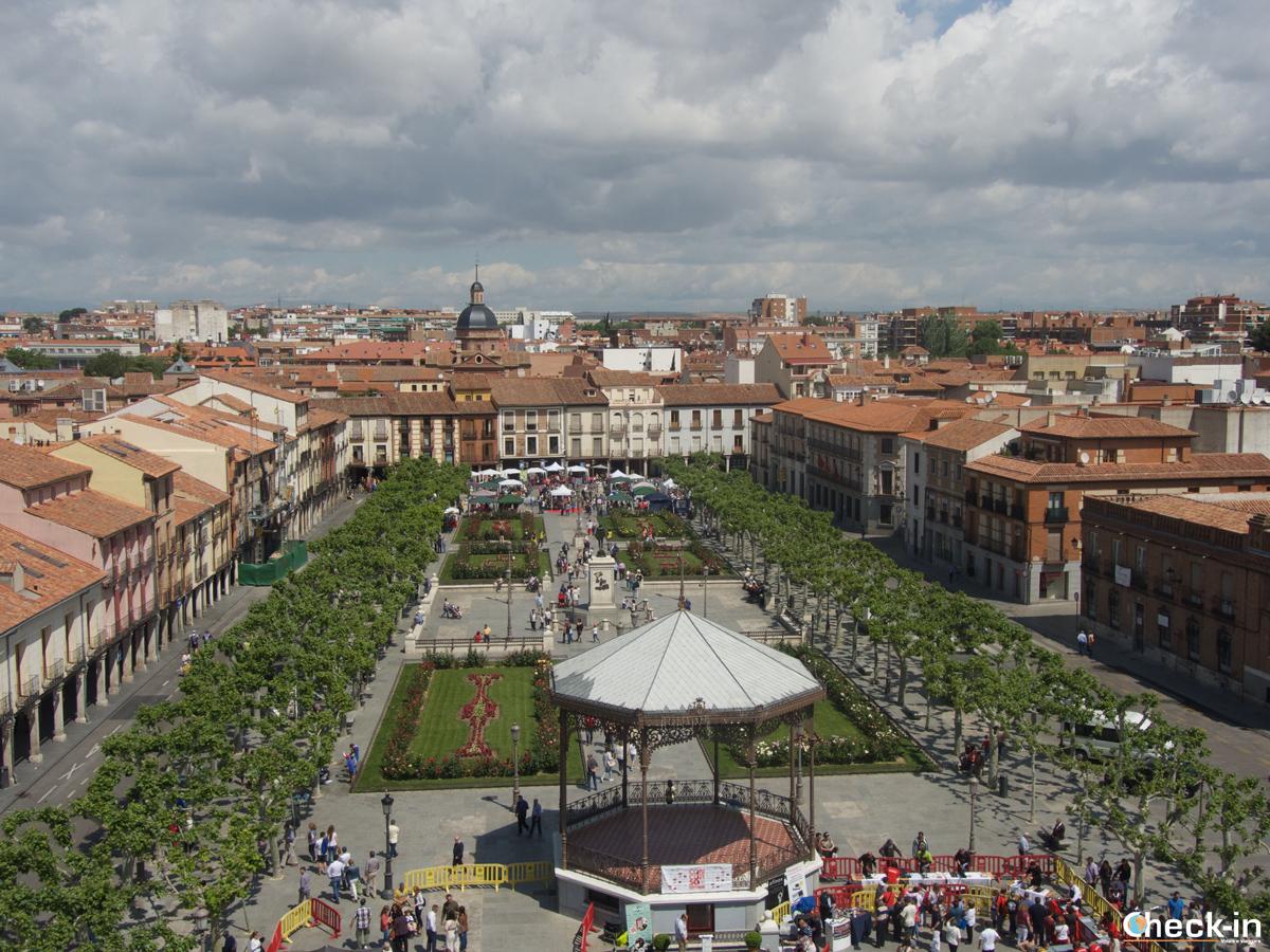 Alcalá de Henares vista dalla Torre de Santa María