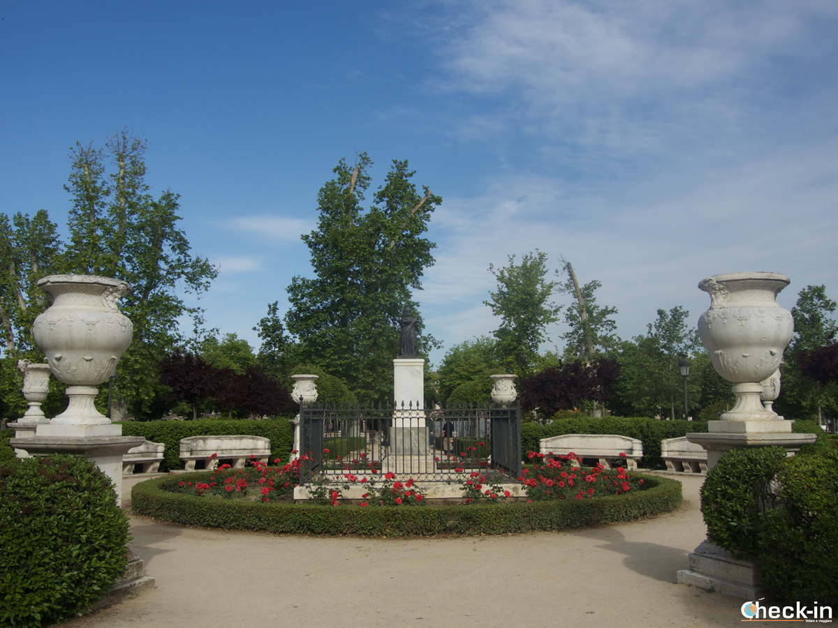 Il Jardín de San Isabel II di Aranjuez