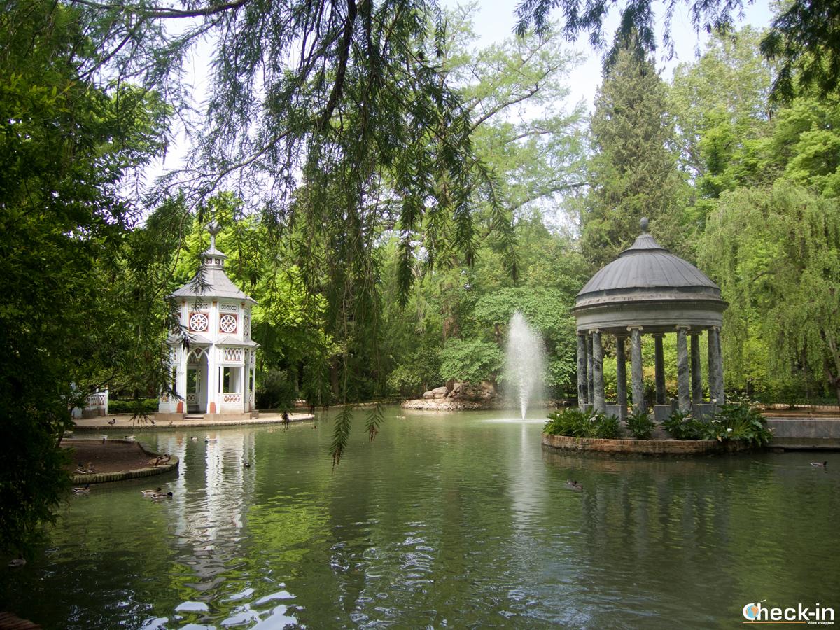 L'Estanque Chinesco nel Jardín del Príncipe di Aranjuez