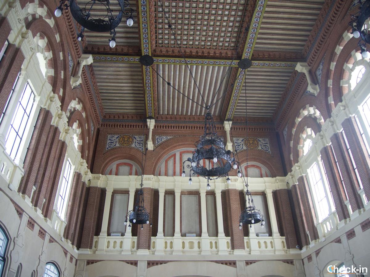 Soffitto della stazione ferroviaria Renfe di Aranjuez