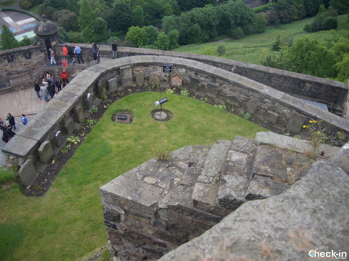 Il Dog Cemetery del Castello di Edimburgo