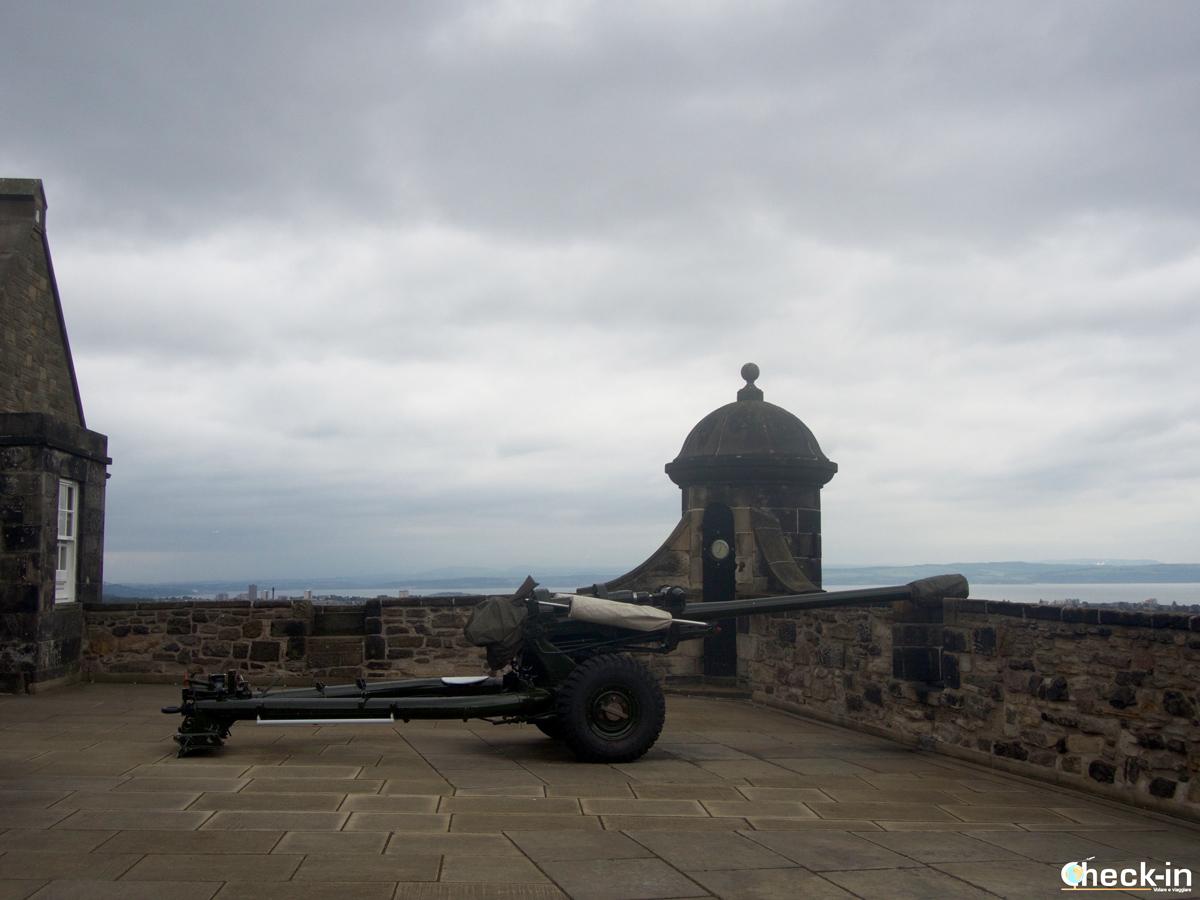 Il One O' Clock Gun del Castello di Edimburgo