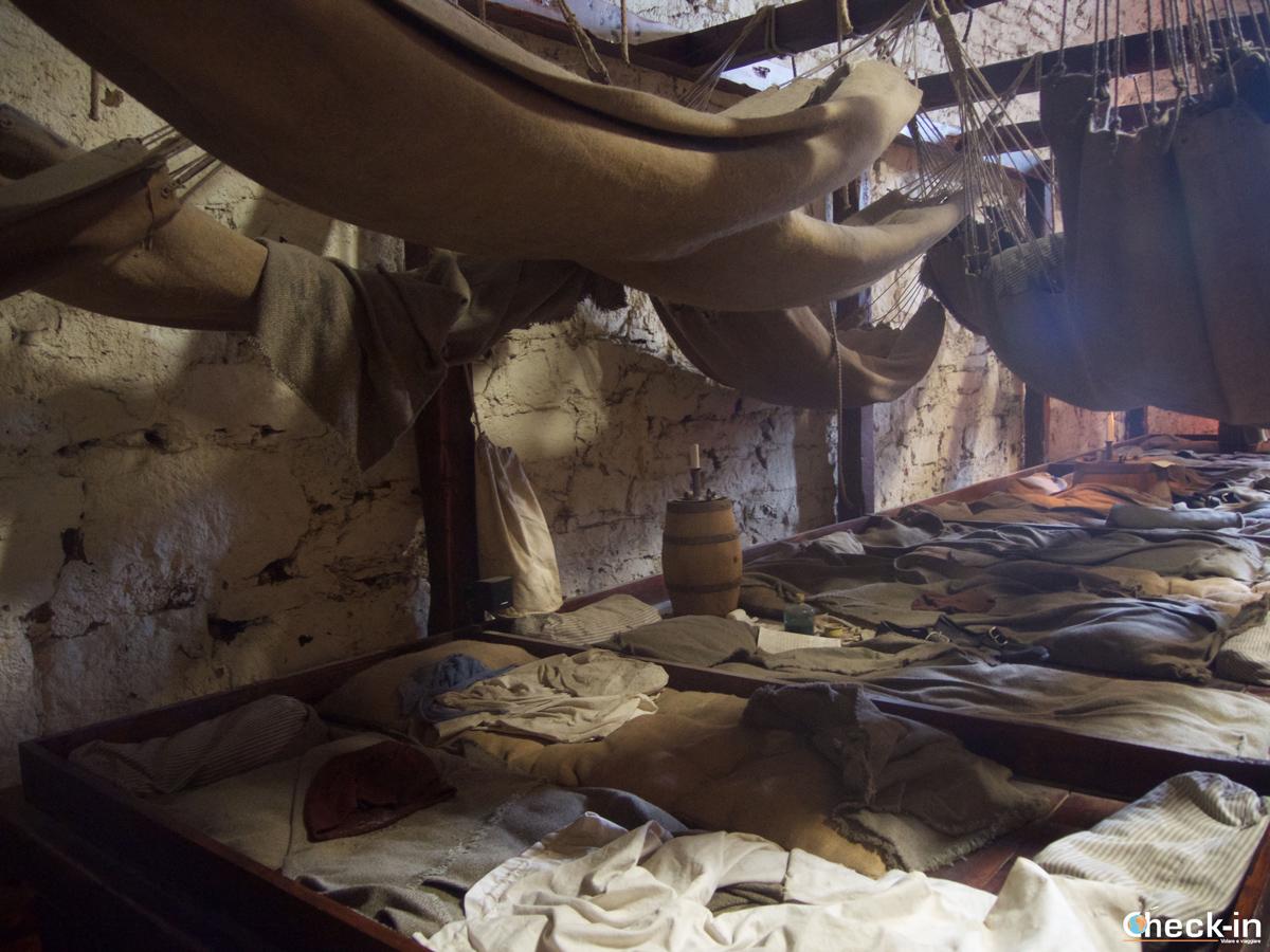 Le prigioni del Castello di Edimburgo
