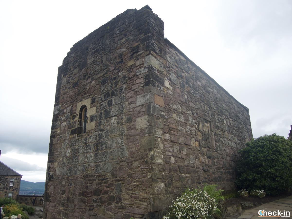 La St. Margaret's Chapel nel Castello di Edimburgo
