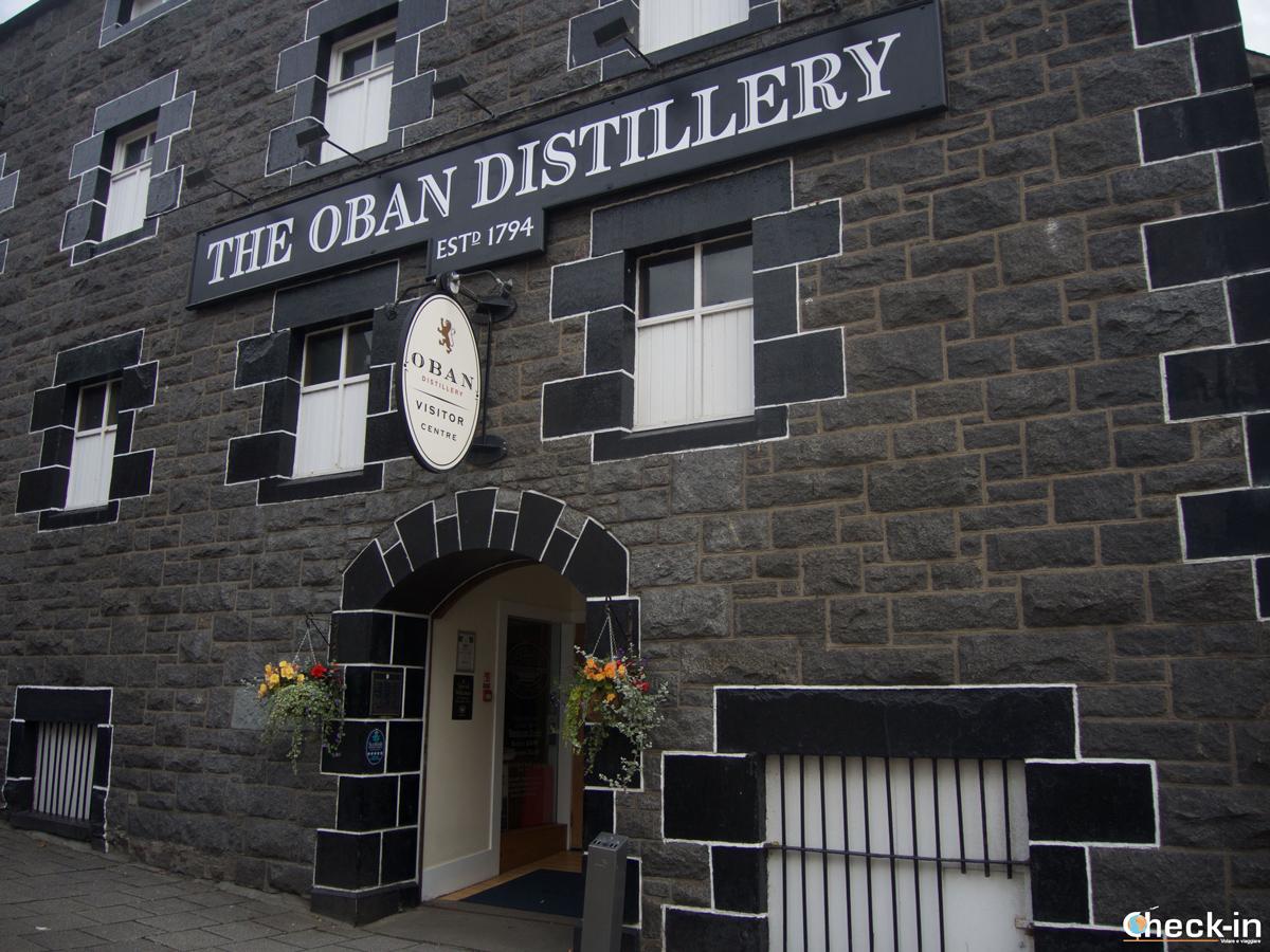 La Oban Distillery, una delle più antiche di Scozia