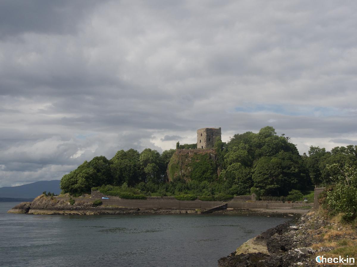 Il Dunollie Castle ad Oban