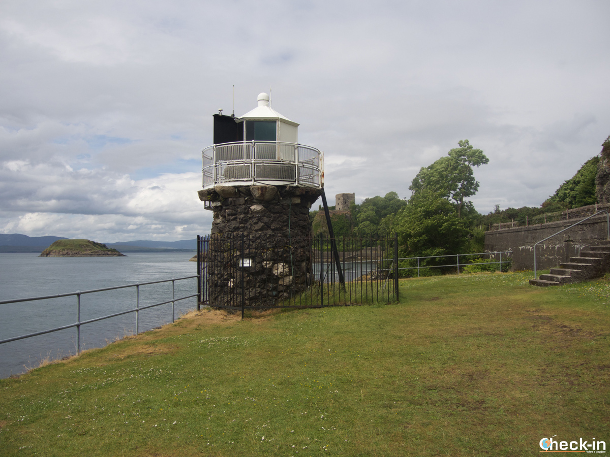 Il Dunollie Lighthouse di Oban
