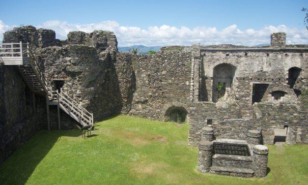 Dustaffnage Castle, visita delle rovine del Castello vicino ad Oban