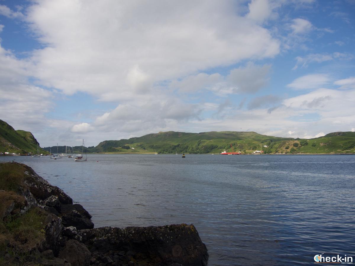 L'isola di Kerrera vista da Gallanach Road