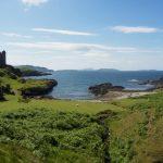 Escursione da Oban sull'isola di Kerrera tra natura, pecore e le rovine del Gylen Castle