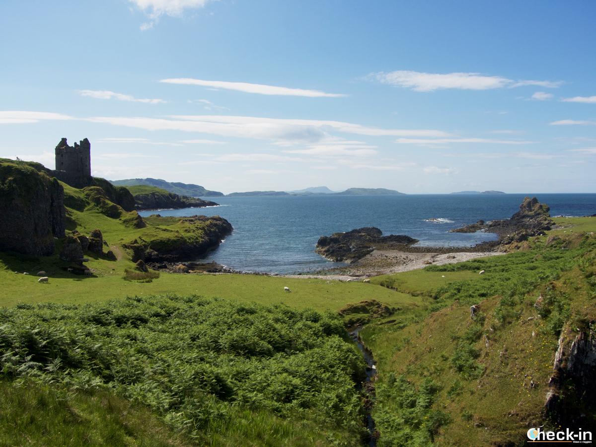 Kerrera Island e Gylen Castle