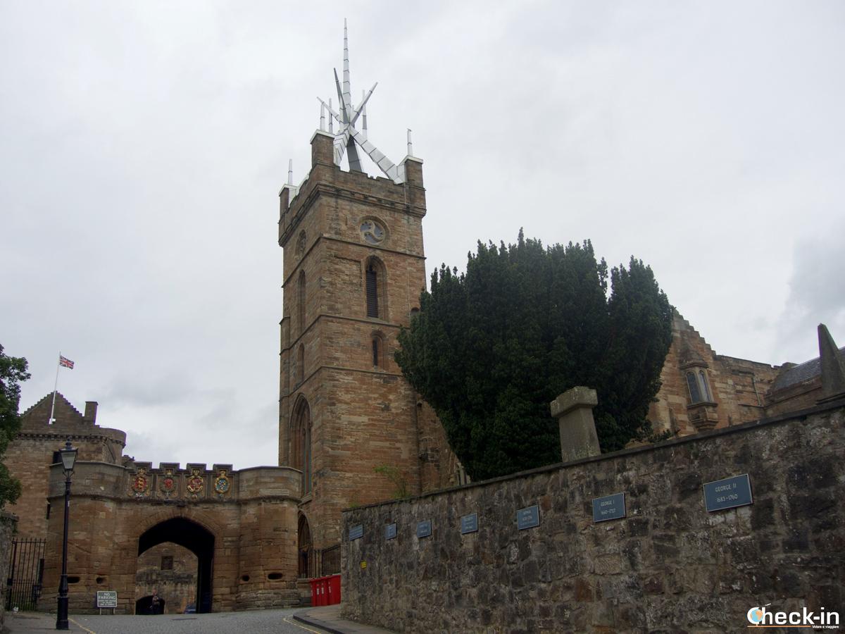 L'entrata al Linlithgow Palace