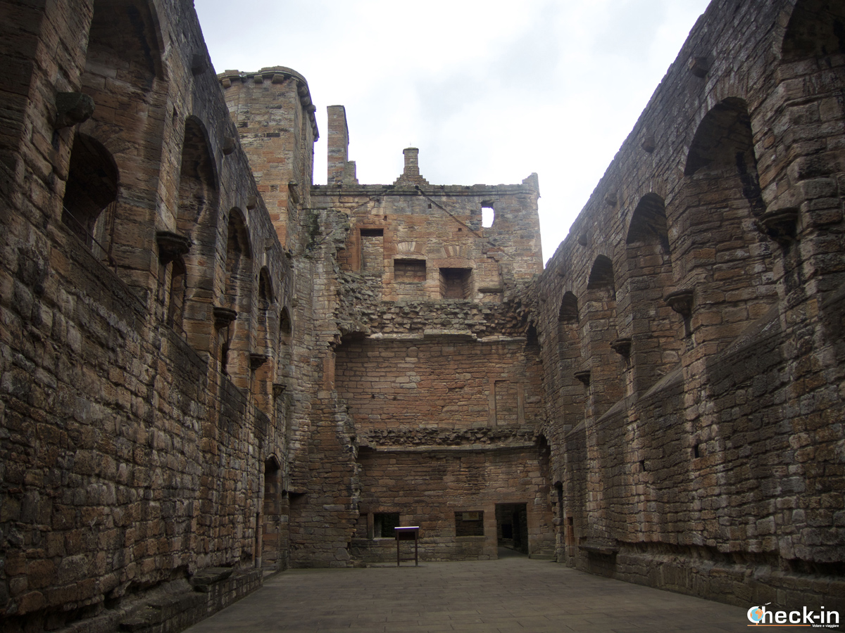 La Great Hall nel Linlithgow Palace