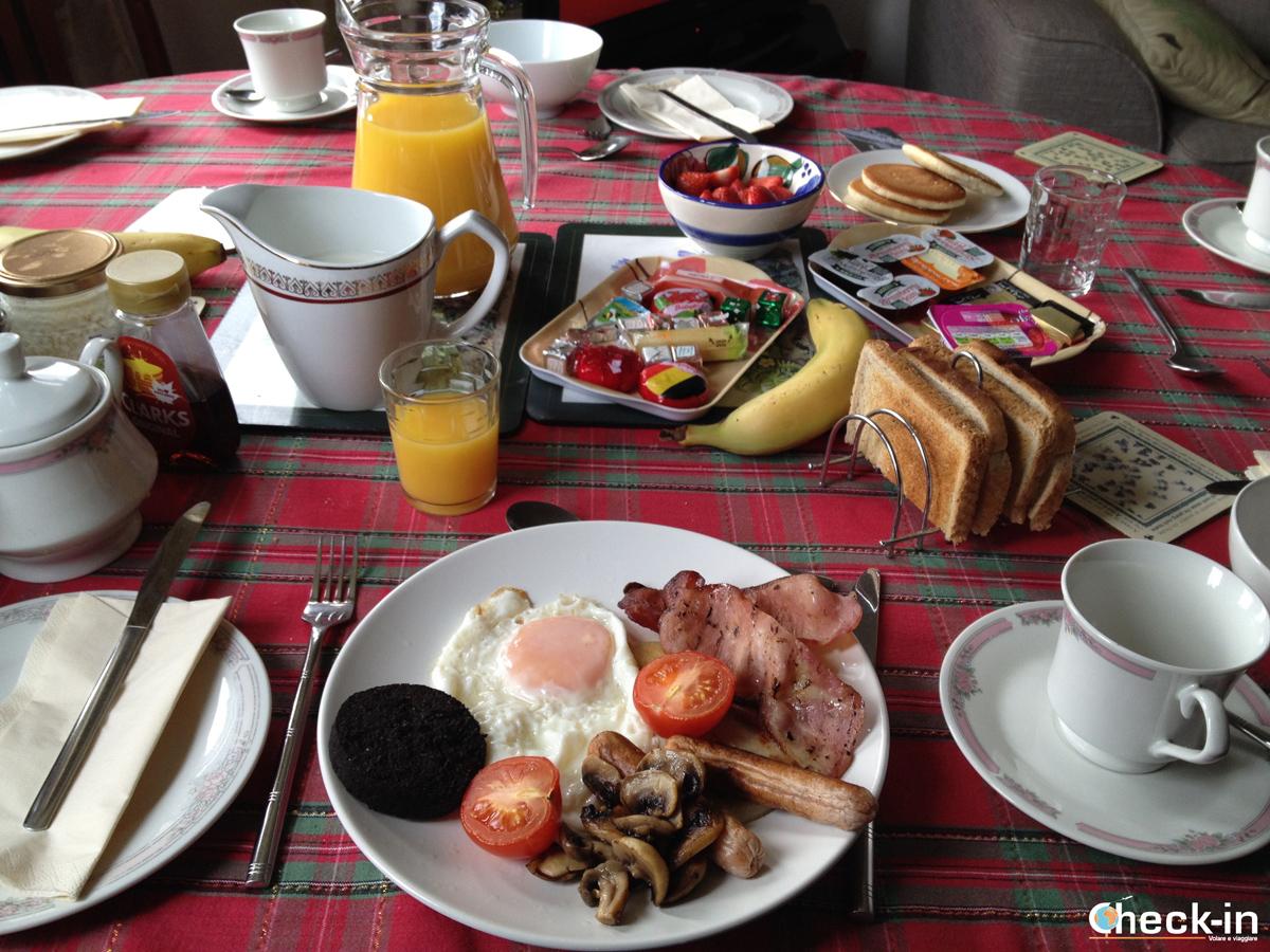 Una colazione da Re al B&B Shepherds House di Oban