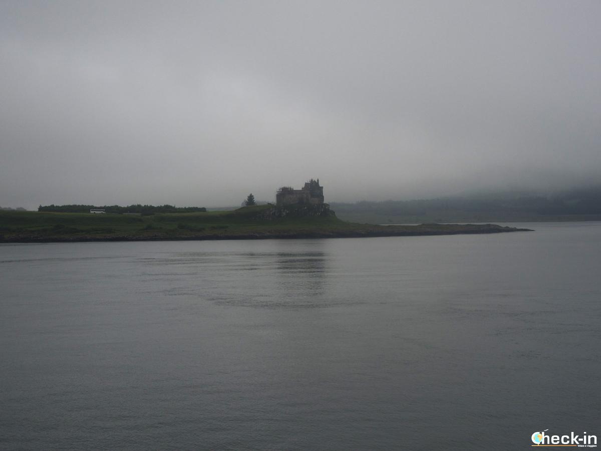 In viaggio verso le Ebridi: Duart Castle sull'isola di Mull
