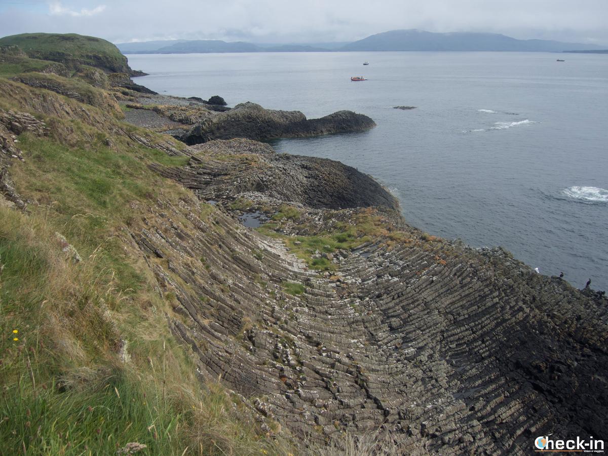Tour delle isole Ebridi: trekking su Staffa