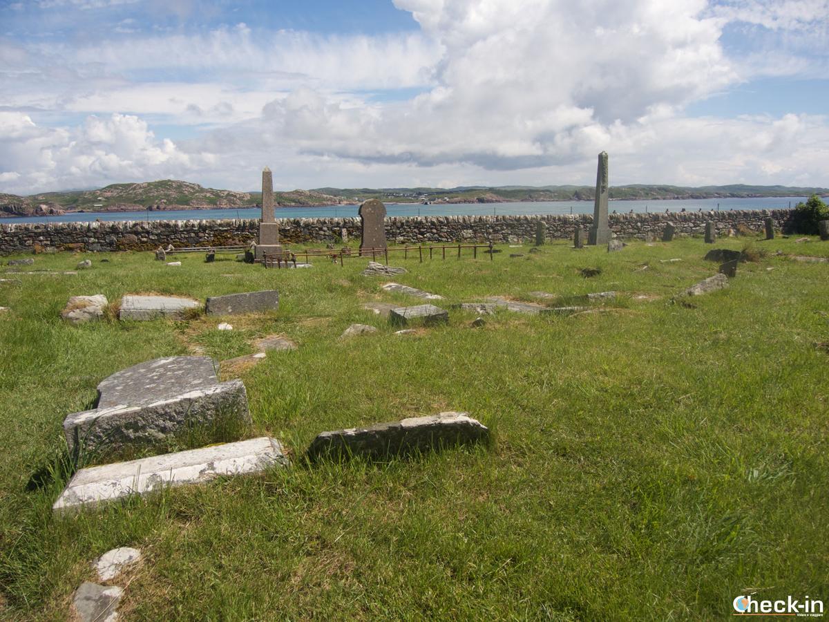 Tour delle isole Ebridi: il cimitero di Iona Abbey